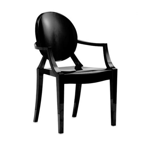 philippe starck chaise philippe starck style louis ghost arm chair black