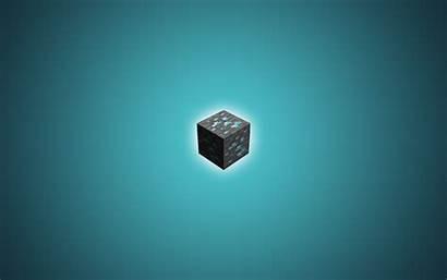 Minecraft Diamond Desktop Wallpapers Ore 1080p Mojang