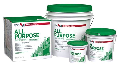 Usg Sheetrock® Brand All Purpose Joint Compound Usg