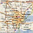 Southfield, Michigan Area Map & More
