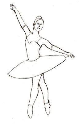 ballerina zeichnen schritt fuer schritt dekoking diy