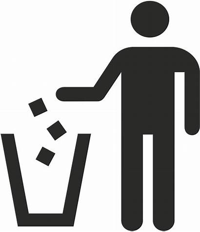 Trash Pick Clipart Icon Keep Surroundings Right
