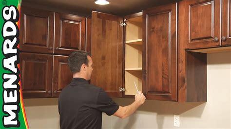kitchen cabinet installation   menards youtube
