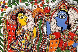 madhubani paintings   graffiti  bihar media