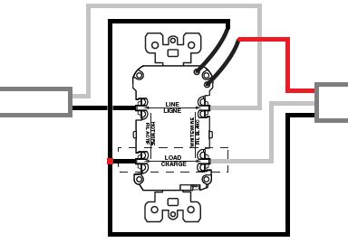 wiring   gfci protect bathroom lighting circuit