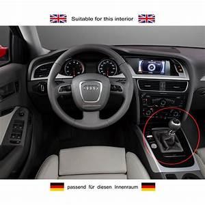 Audi Schaltknauf Leder : ict schaltknauf schaltsack audi a4 b8 typ 8k beleuchtet ~ Kayakingforconservation.com Haus und Dekorationen