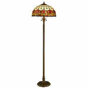amora lighting 62 in tiffany style tulips floor lamp With tryphena tiffany floor lamp