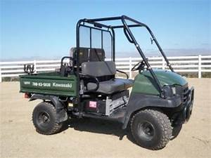 2005 Kawasaki Kaf620 Mule 3010 Trans 4 U00d74 Utility Vehicle