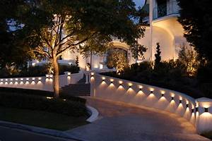Custom landscape lighting ideas