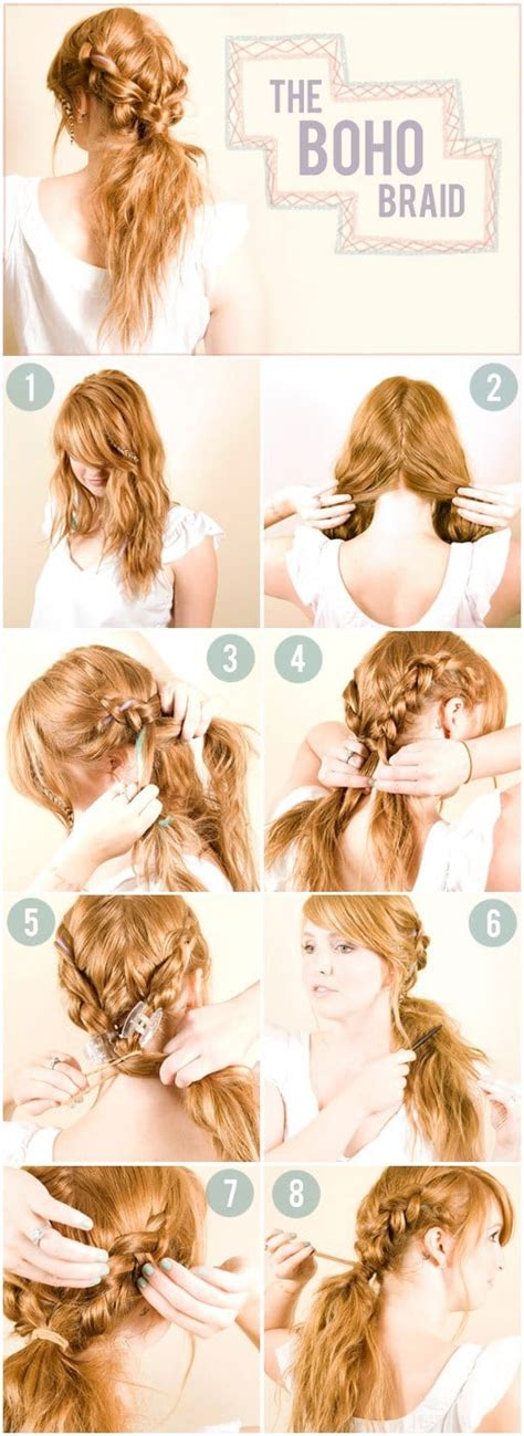 braided hairstyles    romantic