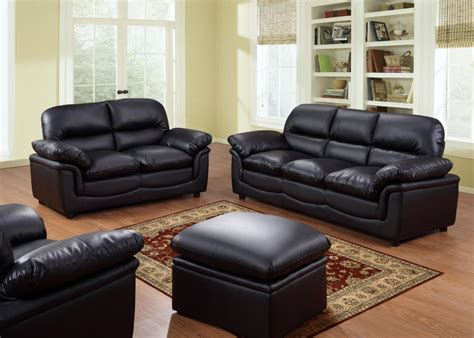 Free Sofas by Verona Leather Sofas Suite Sofa Set 3 2 1 Black Brown