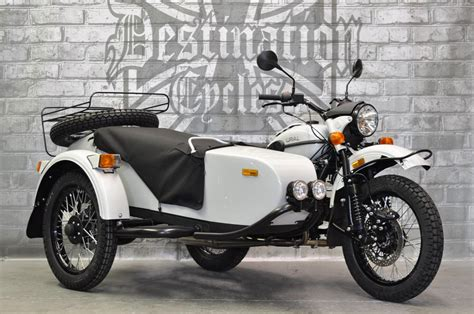 Ural Gear Up Image by 2018 Ural Gear Up Rainier White Metallic Sold