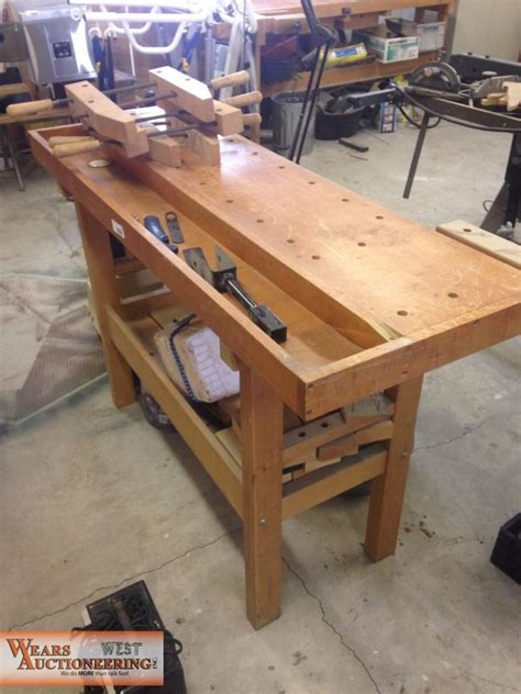woodworking bench  sale    auction item