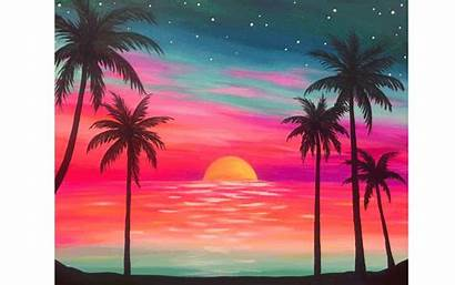 Summer Endless Beach Party Date Paint Painting