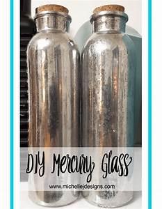 DIY Mercury Glass Michelle James Designs