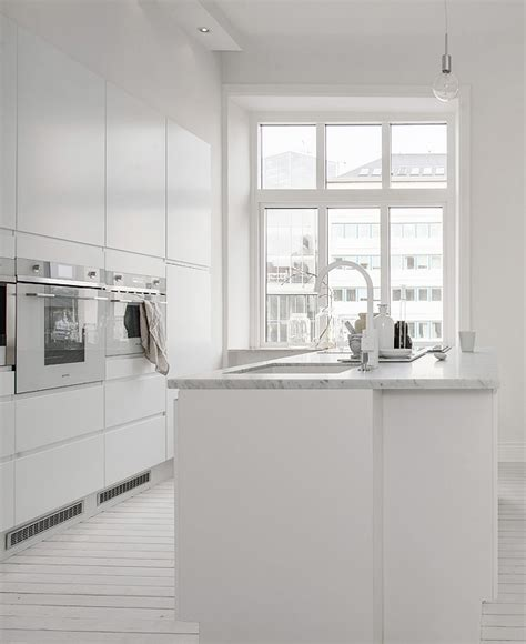big island kitchen decordots all white living