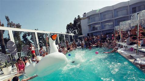 Best Pool parties in L.A. For Poolside Fun
