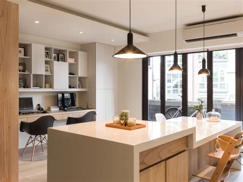 Urban Kitchens : Sparkling Urban Apartment Design