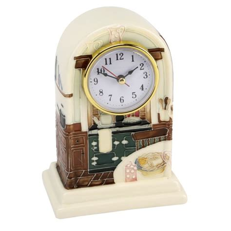 country clocks for kitchen tupton ware country kitchen mantel clock ebay 5945