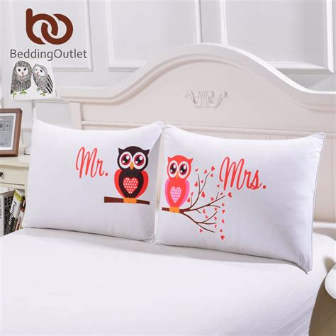 beddingoutlet body pillowcase    owls romantic