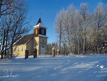 Prairie Scenes Saskatchewan Sk January Lake Iroquois