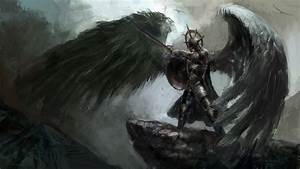 Angel Warrior Full HD Wallpaper and Background Image ...