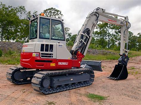 takeuchi tbfr excavators  sale