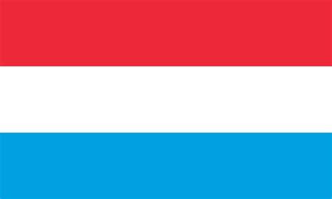 Flagge und Wappen von Luxemburg