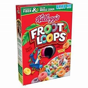 Boite A Cereale : acheter kellogg 39 s c r ales froot loops epicerie am ricaine ~ Teatrodelosmanantiales.com Idées de Décoration