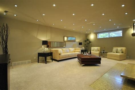 basement using 3 quot or 4 quot recessed lights with gu10