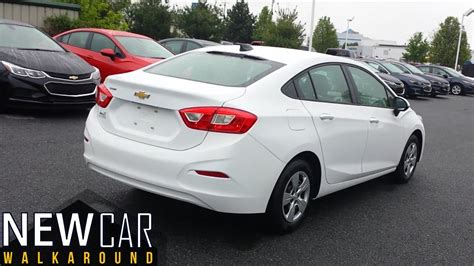 2016 Chevy Cruze Ls Automatic Sedan Walkaround