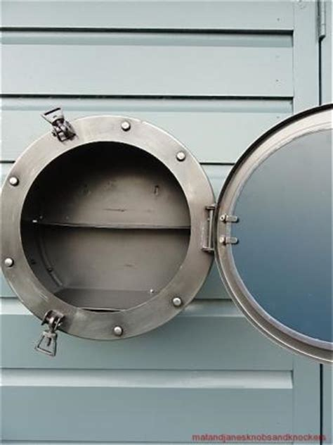 Porthole Mirrored Medicine Cabinet Uk by Cool Antique Style Porthole Bathroom Mirror Cabinet