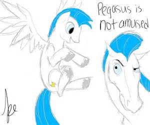 Hercules Riding Pegasus