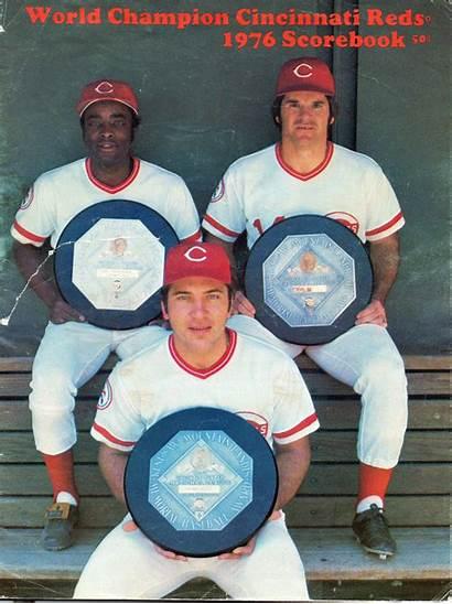 Pete Rose Reds Cincinnati Baseball Johnny Bench
