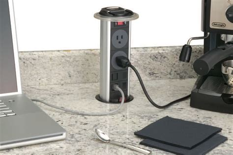 Pop Up Power Outlet Jlc Online Countertops Electrical