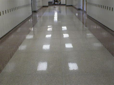 Safety Striping, Terrazzo Restoration   Diama Shield