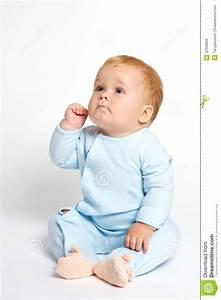 Baby Thinking Stock Photography - Image: 22500822