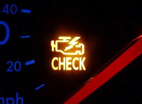 check engine light on car engine light images