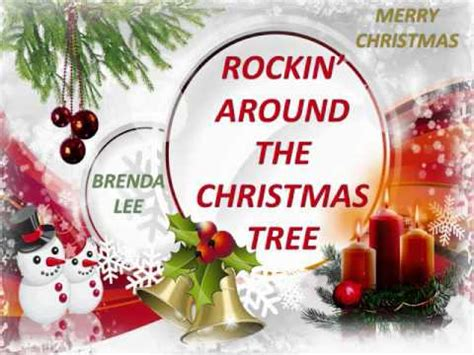 brenda lee christmas song brenda lee rockin around the christmas tree youtube