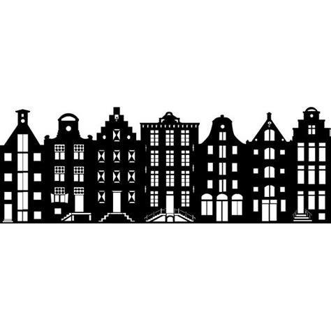Kleurplaat Amsterdamse Huisjes by Raamfolie Aan De Amsterdamse Grachten Kunst Met Kinderen