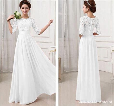maxi dress dress sukienka koronka w suknie i sukienki szafa pl