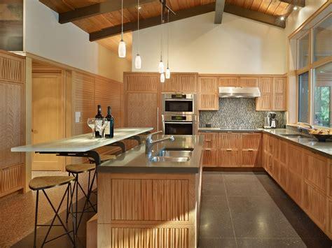 2 tier kitchen island ideas 美式家装厨房实木橱柜效果图大全 土巴兔装修效果图 7285