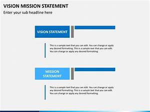 vision mission statement powerpoint template sketchbubble With vision statement template free