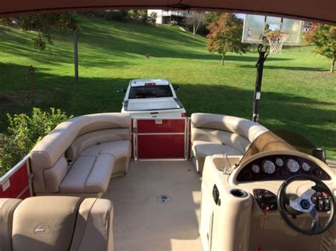 Pontoon Boat Trailer For Sale Virginia by 2014 Starcraft Pontoon Boat W Trailer For Sale In