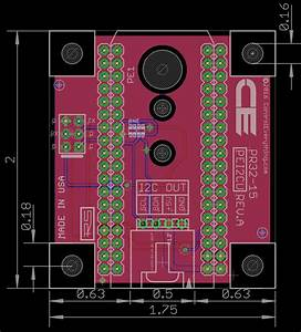 Particle Electron Or Photon Compatible I2c Shield With