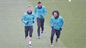 Video: Real Madrid work out in the rain without Benzema ...