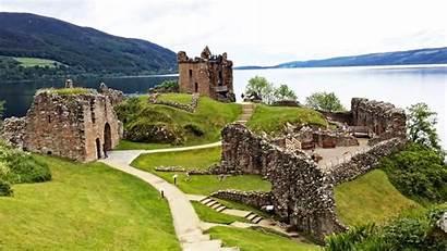 Scotland Scottish Wallpapers Landscape Castle Loch Urquhart