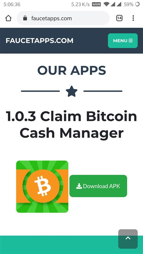 Claim your bitcoin every 10 minutes. ☑️NEW - Claim Bitcoin Cash Manager App Reviews : SCAM or LEGIT? | BeerMoneyForum.com - We Help ...