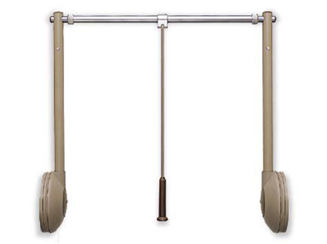 closet rod lift mechanism taw pull closet rod