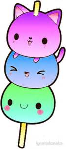 cat kawaii quot kawaii cat kebab quot stickers by lynettekoneko redbubble